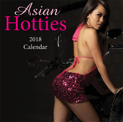 Asian Hotties 2018 Wall Calendar