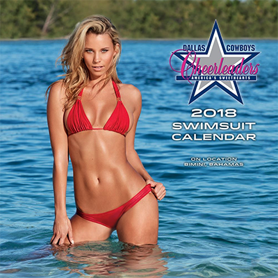 Dallas Cowboys Cheerleader Lg 2018 Wall Calendar