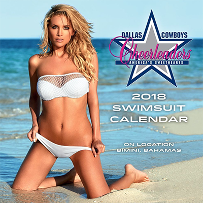 Dallas Cowboys Cheerleader Mini 2018 Calendar
