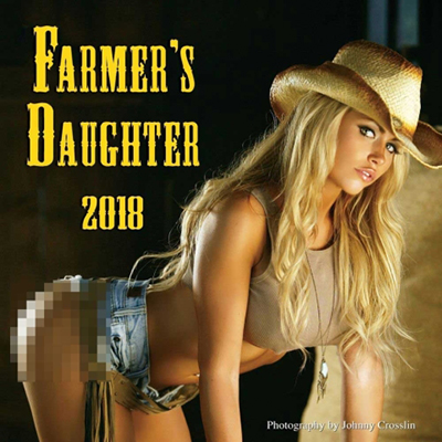 Farmers Daughter 2018 Wall Calendar