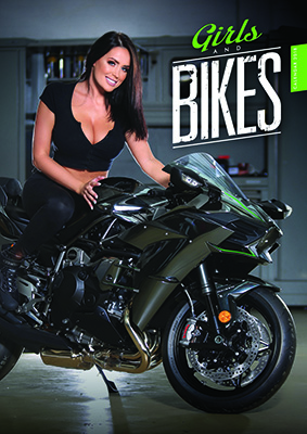 Girls & Bikes 2018 Wall Calendar