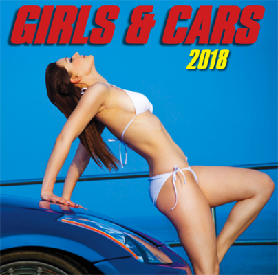 Girls & Cars 2018 Wall Calendar