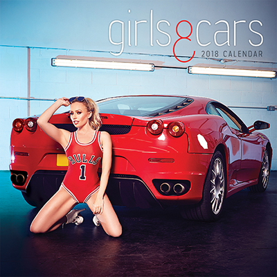 Girls & Cars 2 2018 Wall Calendar