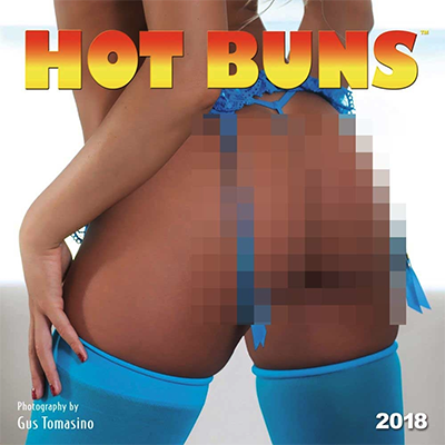 Hot Buns 2018 Wall Calendar