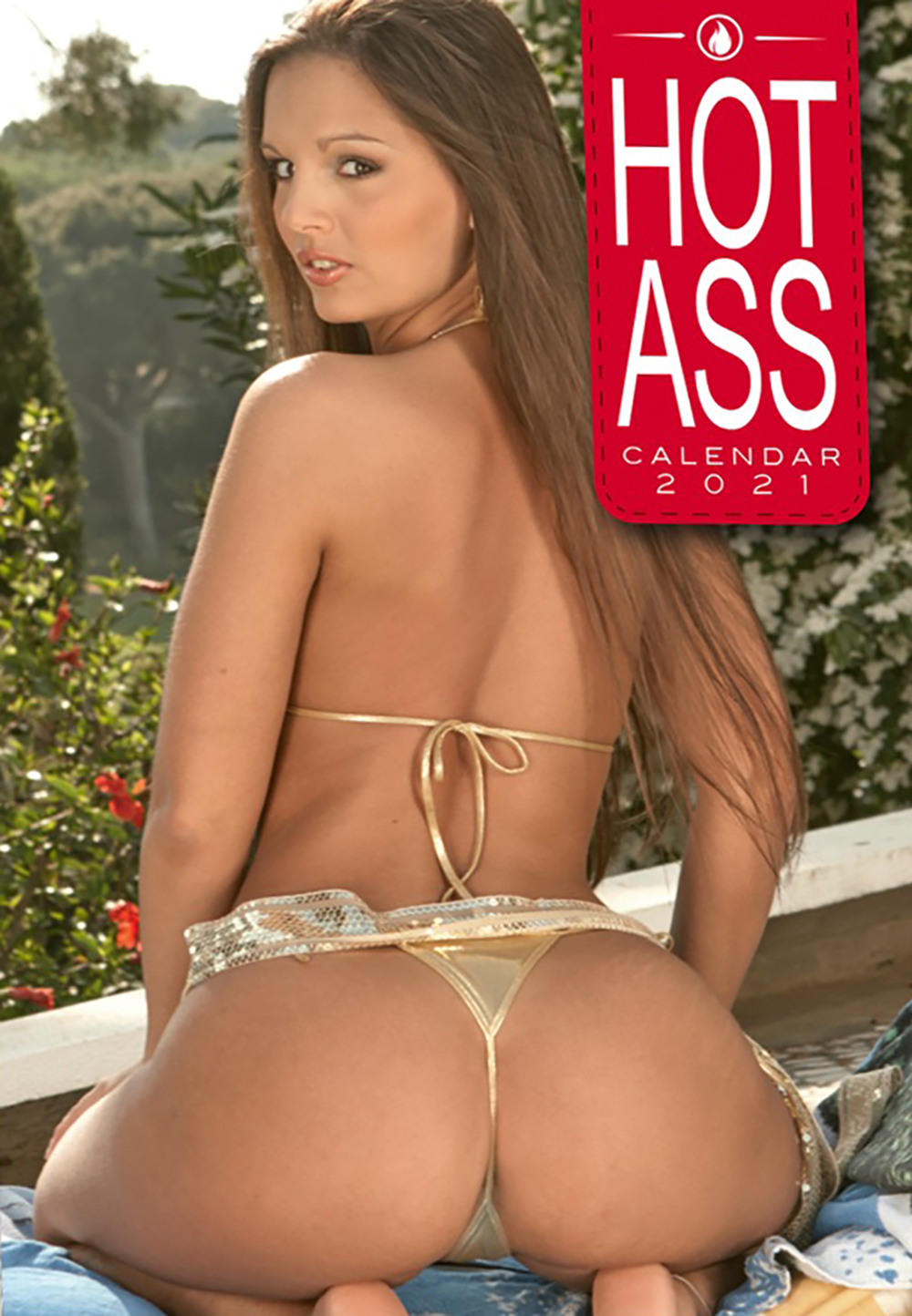 Hot Ass 2021 Wall Calendar
